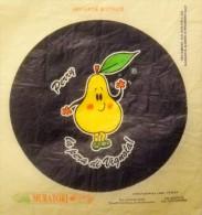 # PERRY LA PERA DI VIGNOLA PAPER FRUIT WRAPPER Orange Fruits Frucht Arancia Frutta Pear Lemon Citron Zitrone - Fruits & Vegetables