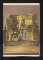 Museo Egipcio *Tut Ank Amen's Treasures...* Ed. Lehnert & Landrock Nº 4. Circulada 1963. - Museos