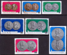 COOK ISLANDS 1973 SG #417-23 Compl.set VF Used Silver Wedding Coinage - Cook Islands