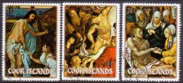 COOK ISLANDS 1973 SG #424-26 Compl.set VF Used Easter - Cook Islands