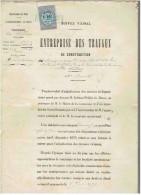 Document:   LANDAS.(Nord)    Construction Des Chemins Vicinaux De La Multrie Et Deffières.   1879. - France