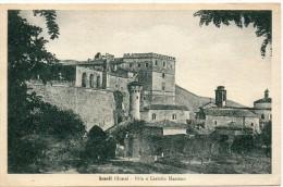 Lazio-roma-arsoli Veduta Villa E Castello Massimo - Altre Città