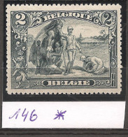 N° 146*, Neuf Trace De Charnière. - 1915-1920 Alberto I