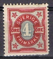 Sello 4 öre SUECIA. Sverige 1903, Num 54 * - Neufs