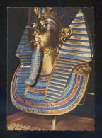 Museo Egipcio *Masque En Or...* Ed. KG Nº A-3. Nueva. - Museos