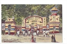 12900 -  Praha  Jubilejni Vystavy V Praze 1908 Habesska Vesnice - Tchéquie
