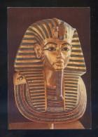 Museo Egipcio *The Golden Mask...* Sin Datos Editor. Circulada 1992. - Museos