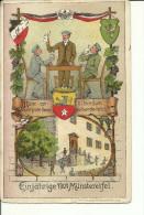 """Allemagne - Deutsch - Einjährige 1909 Münstereifel """"Franz Scheinner,graph,Kunstanstait,Würzburg - Circulé: 1909 - Wuerzburg"""
