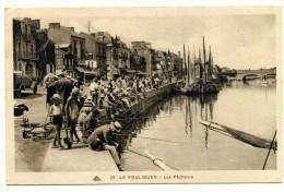 Cp , 44 , LE POULIGUEN , Les Pêcheurs , Voyagée 1932 - Le Pouliguen
