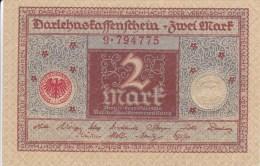 Billet Allemagne 2 Mark Du 01 - 03 - 1920 - Imperial Debt Administration