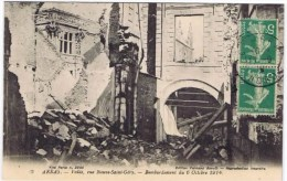 Cpa ARRAS Voute Rue Neuve Saint Gery - Arras