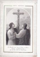 Image Pieuse -dentelle-amitie Chretienne-letaille  PL N°633-edi Boumard - Devotion Images