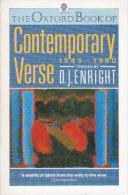 The Oxford Book Of Contemporary Verse, 1945-1980 By Enright, D. J (ISBN 9780192812605) - Books, Magazines, Comics