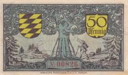 Billet Allemagne 50 Pfennig Du 01 04 1920 - [ 3] 1918-1933: Weimarrepubliek