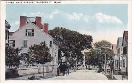 Upper Main Street Nantucket Massachusetts 1948 - Nantucket