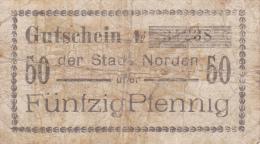 Billet Allemagne 50 Pfennig Du 01 08 1918 - [ 3] 1918-1933 : República De Weimar