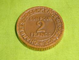 Fèves / Autres / Divers  : Monnaie, 2 Francs     T108 - Fèves