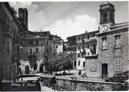 Lazio-roma-olevano Romano Veduta Piazza S.rocco Animata Anni 50 - Altre Città