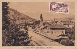 Autriche - Feldkirch Arlbergbahn - Bahnhof - Gare De Chemins De Fer - Postmarked Felkirch - Feldkirch