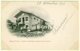86 - T13041CPA - MARCAY - Fabrique D'horloges Monumentales LUSSAULT - Carte Pionnière - Parfait état - VIENNE - France