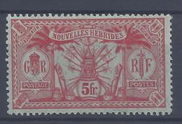 Nelles-HEBRIDES - 1911-12 - LEGENDE  FRANCAISE - N° 37 - X - TB - - French Legend