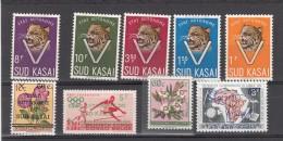 SUD KASAI Lot De Timbres    XX - South-Kasaï