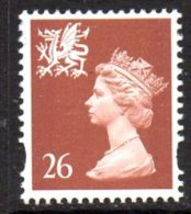 GB Wales 1997-9 26p Walsall Regional Machin, MNH (SG80) - Regional Issues