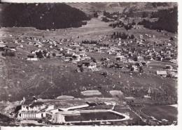 VERBIER (Suisse-Valais) Vue Générale Du Village Et De La Station-Piscine Et Stade ? - CARTE FORMAT MODERNE - 2 SCANS - - VS Valais