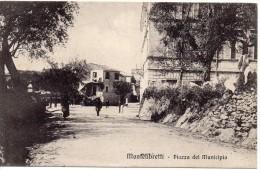 Lazio-roma-montelibretti Veduta Piazza Del Municipio Primi 900 - Italy
