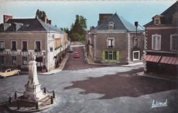Carte 1950 BRULON / Place Albert Lieubault Et Rue Constant Cordier - Brulon