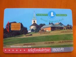 Hungarian National Parks: Őrség, Flower, P-2002-54 - Hongrie
