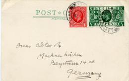 E355 Karte Grossbritannien St.Lavenham - Briefe U. Dokumente