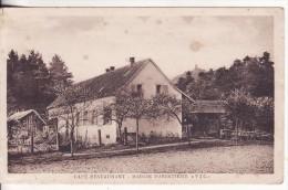 "KINTZHEIM (Bas-Rhin) Café Restaurant Maison Forestière ""Vic"" - Forsthaus - VOIR 2 SCANS - - Otros Municipios"