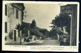Cpa Du 66 Le Perthus -- Avenue Et Route De Barcelona -- Frontière Espagnole   AA25 - France