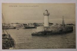 CPA Ile De Ré Entrée Du Port De La Flotte - JU04 - Ile De Ré