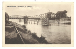 CPA - LANGERBRUGGE - Zeekanaal en Brugzicht  //