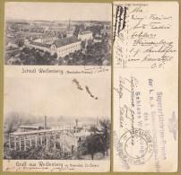 AK Schloss Weißenberg ( Neuhofen - Krems ) & Gruss Aus Weißenberg Im Kremstal ( Oberösterreich ) * Austria Osterreich - Krems An Der Donau