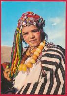AK MAROKKO ´Mädchen / Junge Frau In Volkstracht´ - Costumes