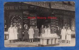 CPA Photo - PARIS ? - Belle Epicerie De Choix - Produits Alimentaires Lucien Bellot - Bouteille De Vin - Biere Dumesnil - Cartes Postales