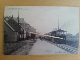 BORSBEECK _ De Tramstatie -  TOP CARTE - Rare - Borsbeek