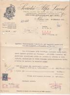 MILANO _  SOCIETA' ALFA LAVAL   /  29 FEBBRAIO 1956 _  FIRMA - Italia