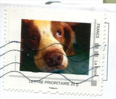 Montimbramoi Chien (o) - Lettre Prioritaire 20g - France