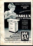 Publicité De Presse Février 1952 : Cuisinière F.A.R. - Advertising
