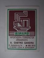 1 CALENDAR SMALL - PORTUGAL TORREFACTION COFFEE CAF� CAFE CARIOCA KAFFEE CAFF� DRINK BOISSON BEVERAGE
