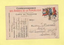 Tresor Et Postes 138 - 24-6-1915 - Marcofilie (Brieven)