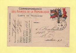 Tresor Et Postes 102 - 6-6-1915 - Marcofilie (Brieven)
