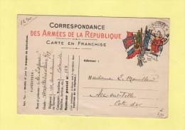 Tresor Et Postes 144 - 7 Oct 1915 - Marcofilie (Brieven)