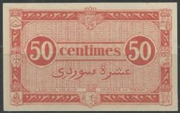 FREE SHIPPING - Algérie - Algeria 50 CENTIMES NOTE - Argelia