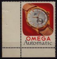 OMEGA Watch Clock Watches Automatic - MNH Cinderella / Label - MNH - Horlogerie