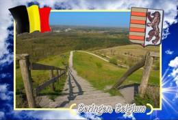Postcard, Cities Of Europe Collection, Beringen, Belgium 6 - Mapas